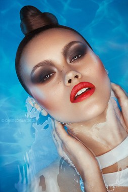 Fashion Expressive Portrait Photo by Photographer Chris Conway