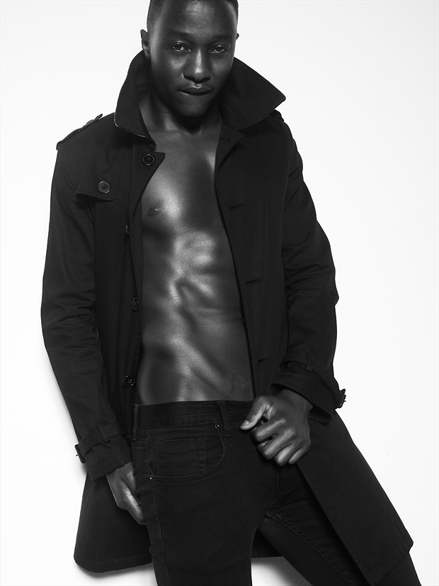 Fashion Figure Study Photo by Model Paul Osei