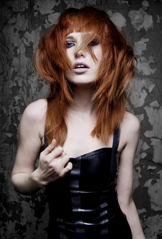 Fashion Photo by Artist Martin Bland Hair Stylist
