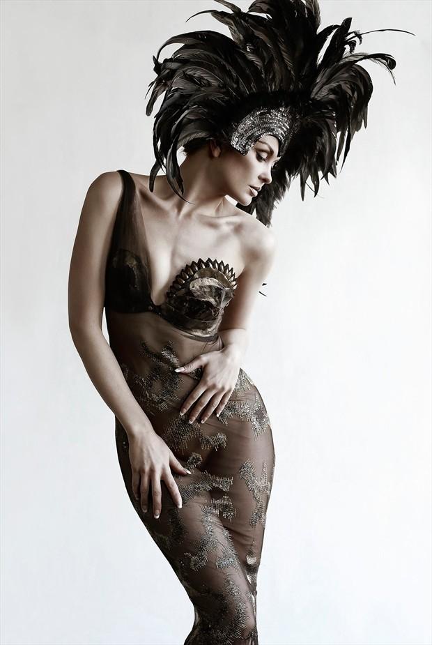 Fashion Photo by Model Anne