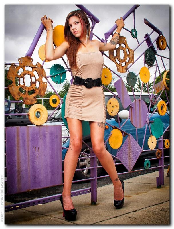 Fashion Photo by Model Merrill White