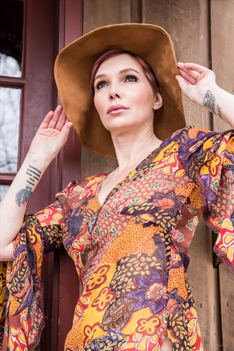 Fashion Photo by Model Tati