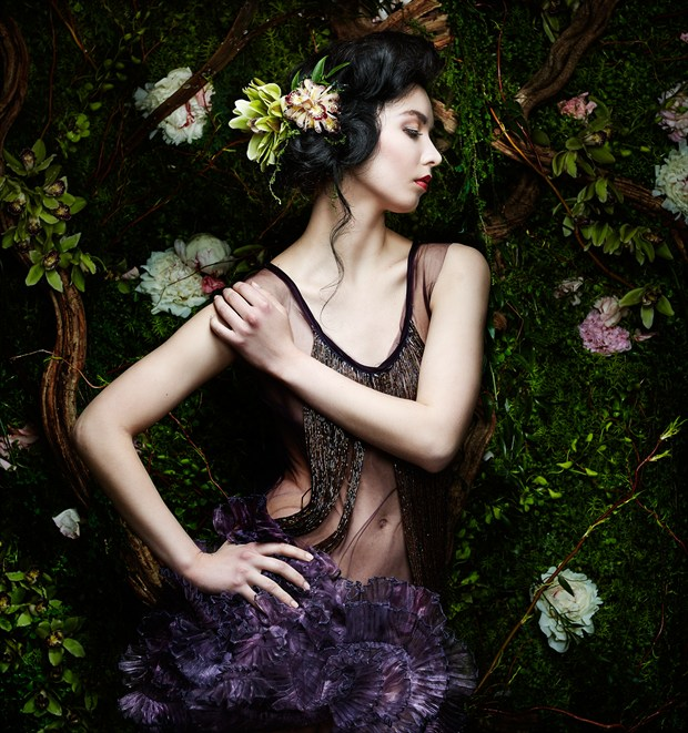 Fashion Portrait Photo by Photographer Adrian Holmes