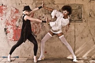 Fashion Super Heroes Fashion Photo by Photographer Gary Latham