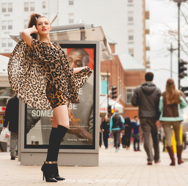 Fashion in the City Streets Fashion Photo by Model Satine Lynn