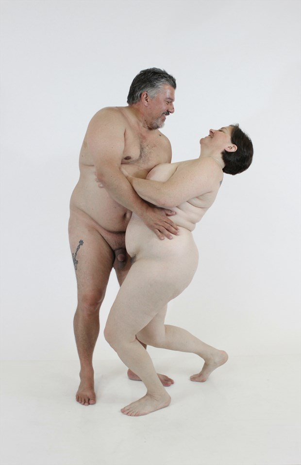 Lesbian boob bondage