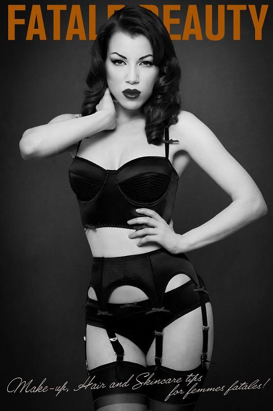 Fatale Beauty Lingerie Photo by Model Morgana