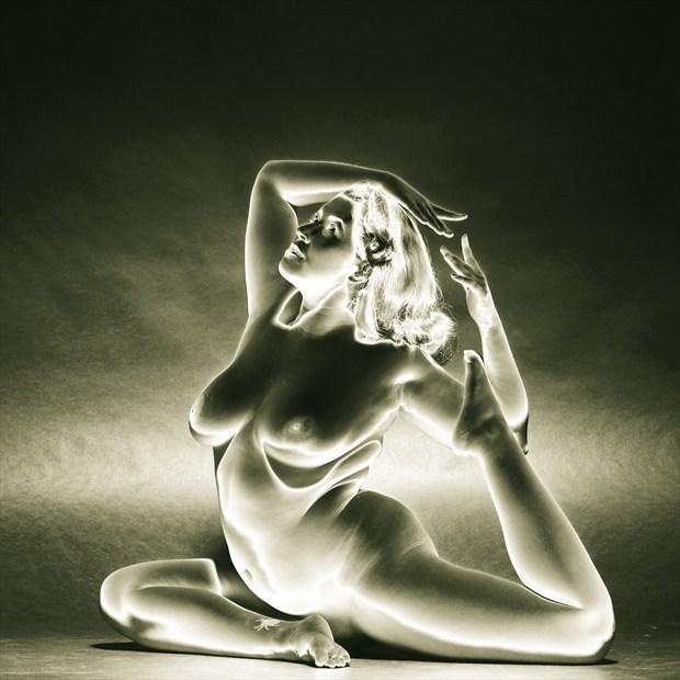 Fauxlarized Nude Study Artistic Nude Photo by Photographer Mark Bigelow