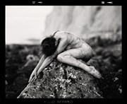 Fawnya at the White Cliffs 2 Artistic Nude Photo by Photographer RayRapkerg