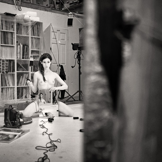 Fawnya in the studio 1 Artistic Nude Photo by Photographer RayRapkerg