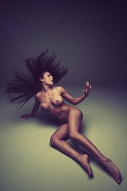 Fear Artistic Nude Artwork by Model Ceara Blu