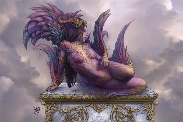 Feather Cosplay Artwork by Artist David Bollt