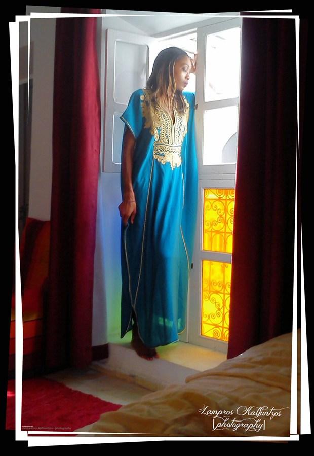Feeling Blue Fashion Photo by Artist 3ddream