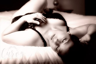 Feeling Yourself Lingerie Photo by Photographer MaddyLens Photography