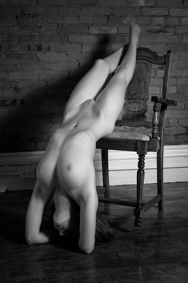Female Nude with Chair Artistic Nude Photo by Photographer LMichaelSmith