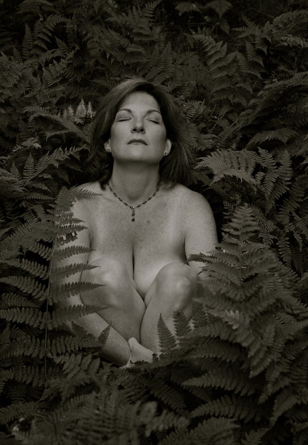 Ferns Nature Photo by Model JustAlice