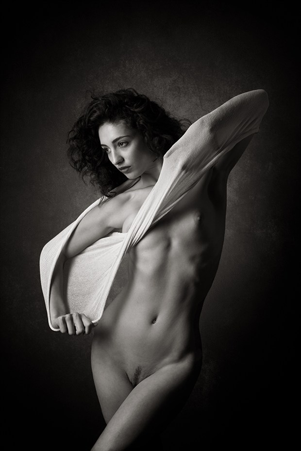 Fibres Artistic Nude Photo by Photographer Mick Waghorne