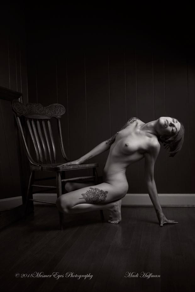 Fighting for the Light Artistic Nude Photo by Photographer Mez