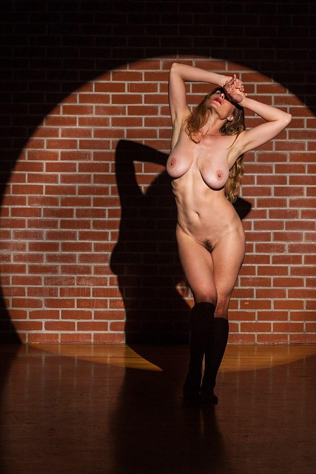 Fighting the spotlight Artistic Nude Photo by Model Vassanta