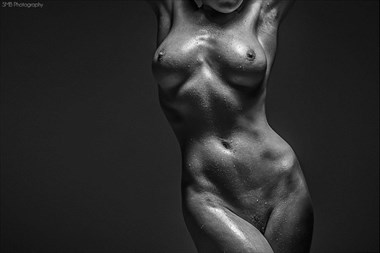 Figure Study Artistic Nude Artwork by Model Rosa Brighid