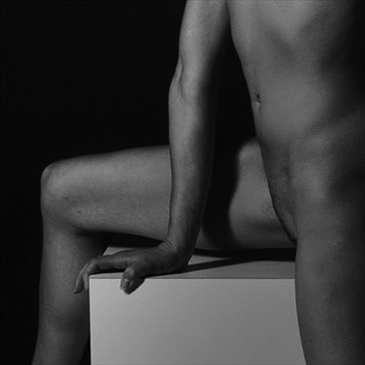 Figure Study Artistic Nude Photo by Photographer Michael Lee
