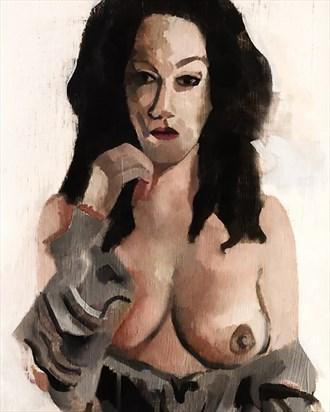 Figure Study Artwork by Artist aclaytonjohnson