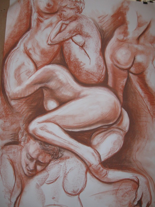 Figure Study Artwork by Photographer jymdarling