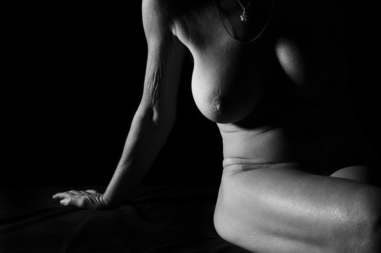 Figure Study in hard light Artistic Nude Photo by Photographer TheBody.Photography
