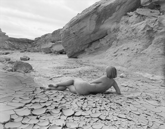 Figure study, dry creek bed Artistic Nude Photo by Photographer Lumin