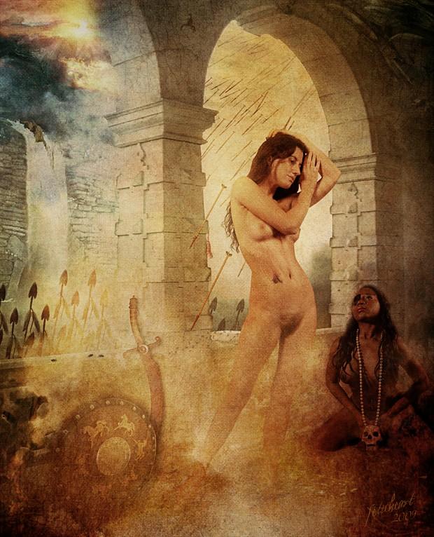 Final Hours Artistic Nude Artwork by Photographer Mark Davy Jones