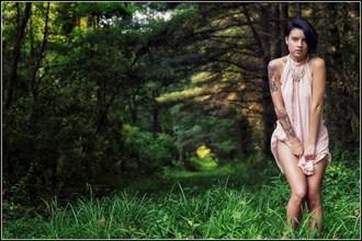 Find the Light Tattoos Artwork by Model Monica Elizabeth