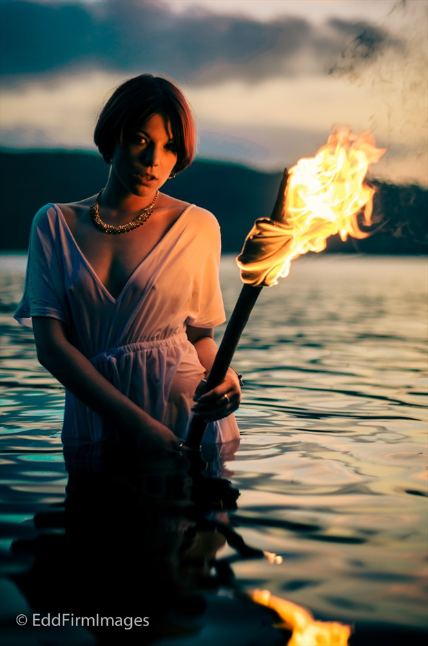 Fire and Water Alternative Model Photo by Photographer eddfirm