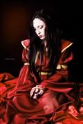 Fire princess Fantasy Artwork by Model AlevBlack
