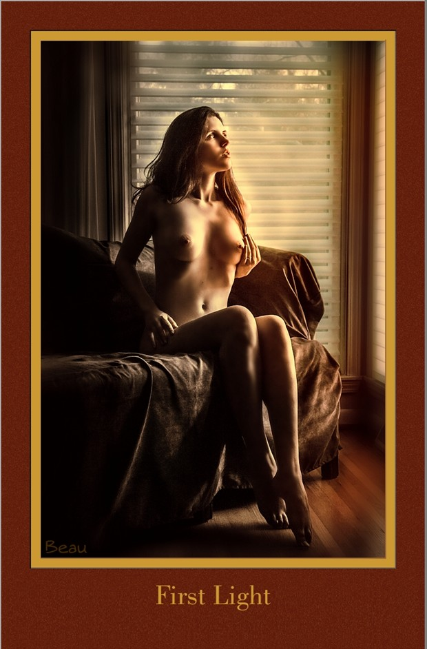 First Light Artistic Nude Photo by Photographer Beau