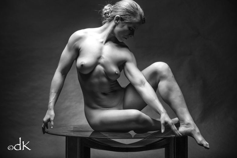 Fit  Artistic Nude Photo by Photographer dennis keim