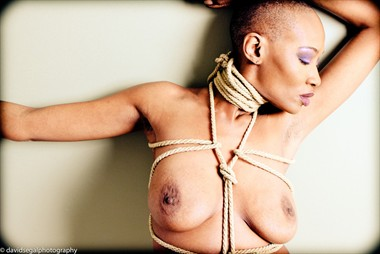 Fit To Be Tied Artistic Nude Photo by Model Crimson Reign