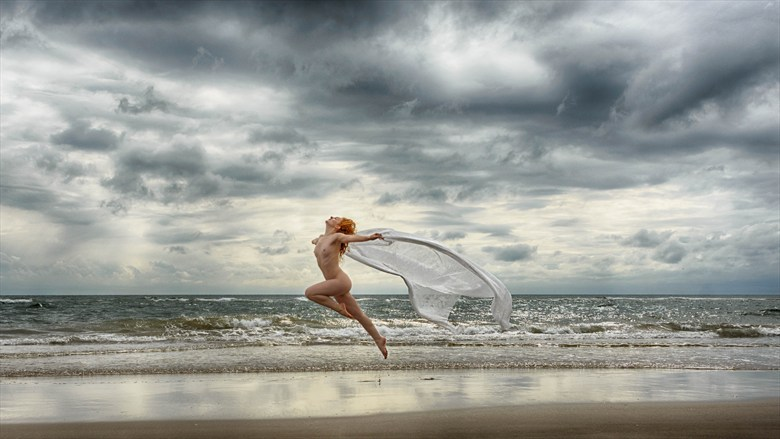 Flames in Flight Artistic Nude Photo by Photographer Rascallyfox