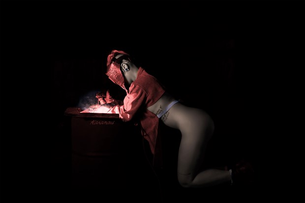 Flamework Femme Sensual Photo by Photographer Alanamous