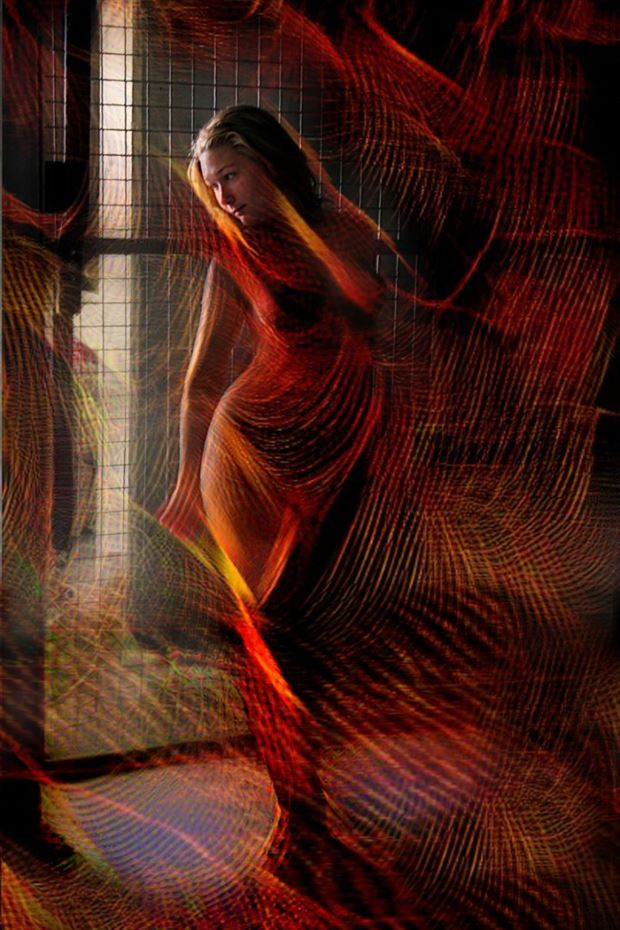 Flaming Hell Abstract Photo by Photographer Beau