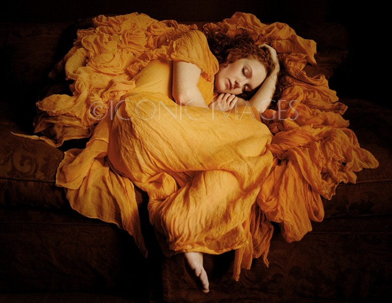 Flaming June Fantasy Photo by Model Ivory Flame