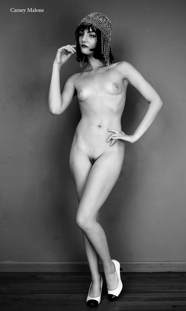 Flapper Artistic Nude Photo by Photographer Carney Malone