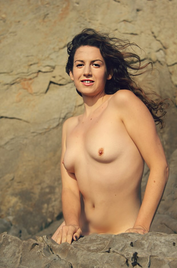 Flesh and stone Artistic Nude Photo by Artist AnneDeLion