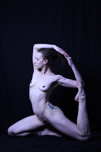 Flexible model Artistic Nude Artwork by Photographer Lavaughn