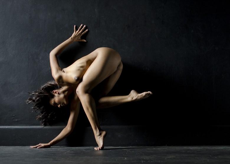 Flexure Artistic Nude Artwork by Photographer Alan H Bruce