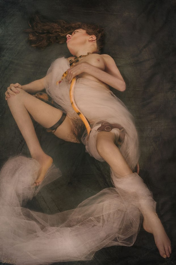 Flight of the Naga Artistic Nude Photo by Model Jocelyn Woods
