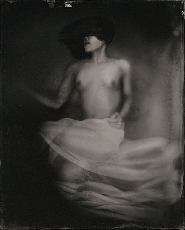 Floating Without Artistic Nude Artwork by Photographer James Wigger