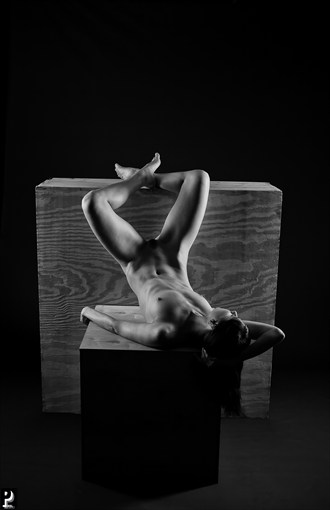 Floofie Artistic Nude Artwork by Photographer Thom Peters Photog
