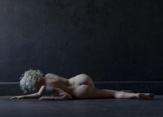 Floor Climbing Artistic Nude Artwork by Photographer Alan H Bruce