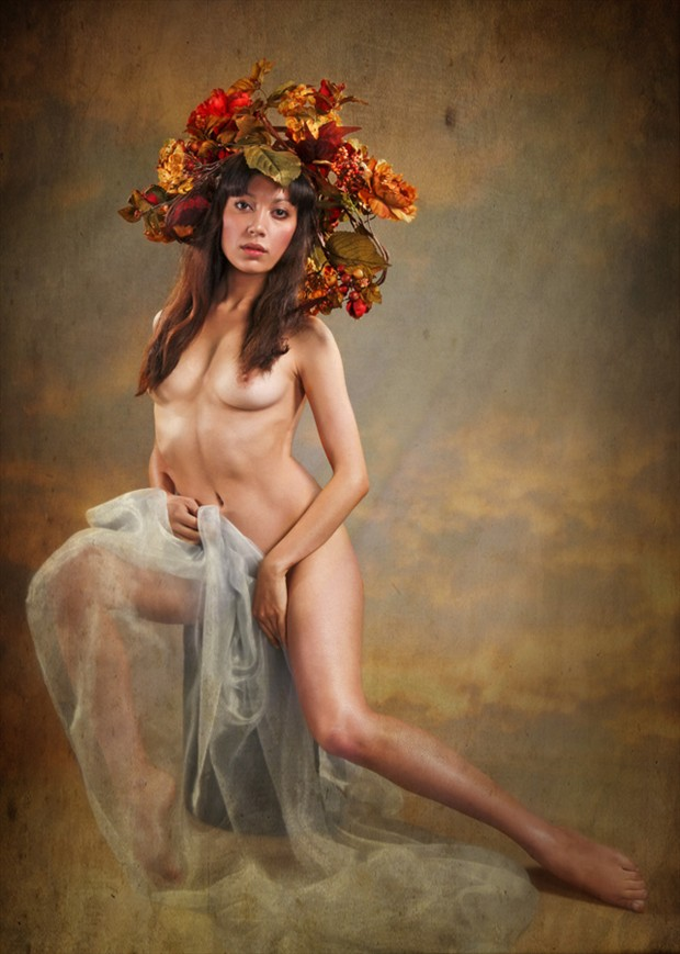 Floral Nymph Artistic Nude Photo by Photographer MaxOperandi
