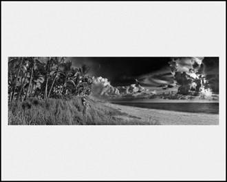 Florida Beach Sunrise Artistic Nude Photo by Artist LightBrushedImages